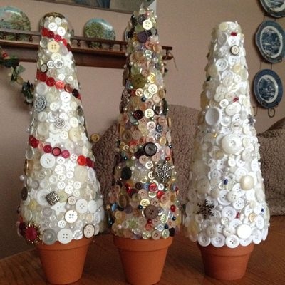Button Trees - Large Unlit