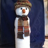 chenille snowmen large