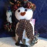 chenille snowmen small
