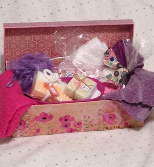 soap box pink
