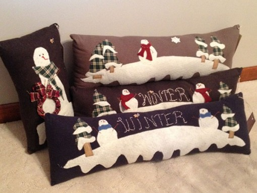 winter pillows